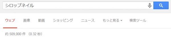 検索ボリューム